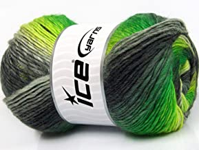 Yarn Lig... Lot of 2 x 150gr Skeins Ice Yarns CAKES MOHAIR 20/% Mohair 20/% Wool