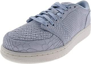 Nike Girls Air Jordan 1 Retro Low NS BG Suede Embossed Fashion Sneakers