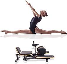 Kays Beenrekmachine met uniek hefboom-spiraalsysteem, 180 ° vrij aanpassingsbeen, stretchtraining, fitnessapparatuur voor ...