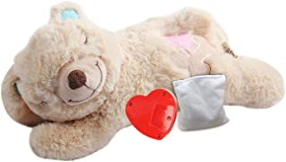 All for Paws Puppy Heart Beat Sleep Aid Plush Toy Warm Bear Toys for Comforting Dogs