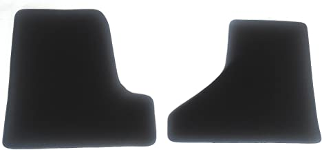 Freightliner Cascadia Black Carpet Floor Mats by Avery's - 2 PC Cab - Fits 2008-2016