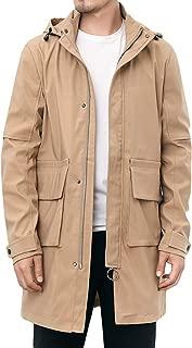 KOGARASI モッズコート メンズ ジャケット 秋服 ウインドブレーカー ミリタリーコート 冬 カジュアル ブルゾン 無地 防風 アウター フード付き 大きいサイズ