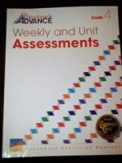 Benchmark Advance Weekly and Unit Assessments (Grade 4)