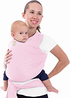 Baby Wrap Carrier All-in-1 Stretchy Baby Wraps – Baby Sling – Infant Carrier..