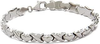 Best x and heart bracelet Reviews
