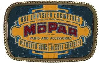 Mopar Genuine Parts Brass Belt Buckle Made In USA