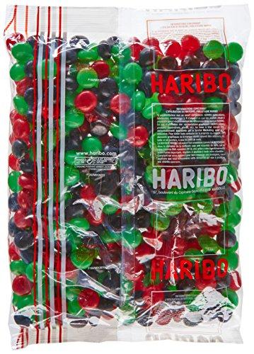 HARIBO - Fraizibus - Bonbons Dragéifiés Aromatisés aux Fruits Rouges - Sachet Vrac 2 kg