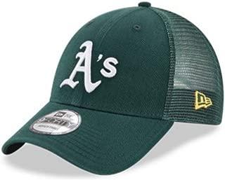 New Era 9Forty Hat MLB Oakland Athletics Green Trucker Adjustable Cap