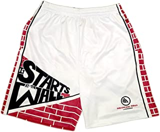 Men's Starts at The Wall Lacrosse Shorts
