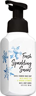Bath and Body Works FRESH SPARKLING SNOW Gentle Foaming Hand Soap 8.75 Fluid Ounce