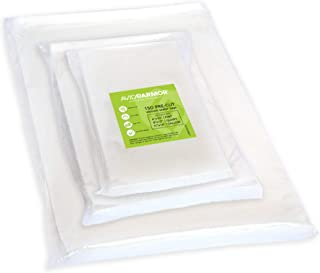 150 Vacuum Sealer Storage Bags for Food Saver, Seal a Meal Vac Sealers, 50 Each Bag Size: Pint 6x10, Quart 8x12, Gallon 11...