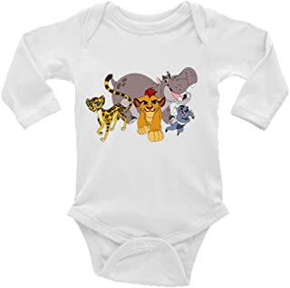 Lion Guard Long Sleeves Unisex Baby/Toddler Onesie