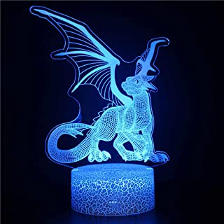 3D الحيوان LED مزود مزود مزود بأنبوب من الكريستال مزود بمفصلات مزود بعدد 3 قطع مزود بعدد 3 قطع
