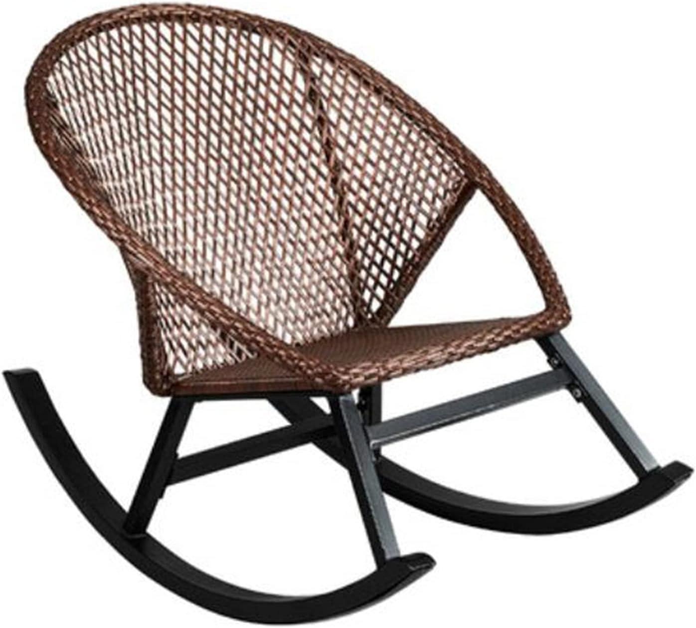 Domestic Rattan Classic Chair Boston Mall Single Rocking Balcony Sofa Suita