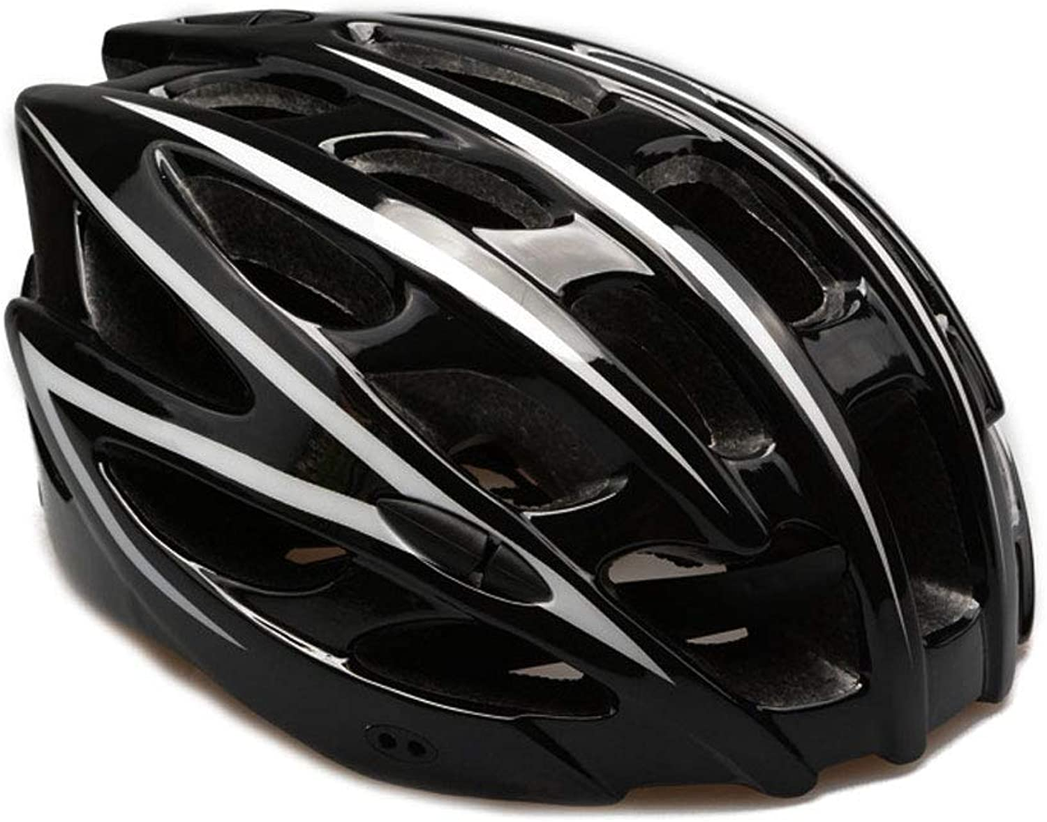 Ride Helmet,Road Bike Integrated molding Safety Ultralight Male and Female Adults Outdoor Gear Adult Roller Skating Helmet,Black