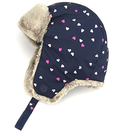 e01c83894f3 Moon Kitty Baby Girls Winter Hats Candy Colored Earmuffs Cap