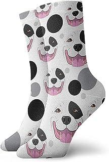 Dydan Tne, Calcetines de patrón de caniche Divertido Loco para niñas y niños