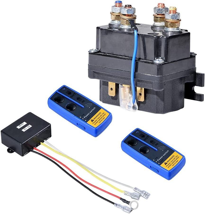 AstraDepot Spasm price store Universal Winch Contactor Relay Controller 1 Solenoid