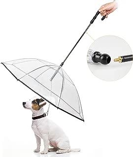 Enjoying Pet Umbrella Dog Umbrella Leash for Small Dogs