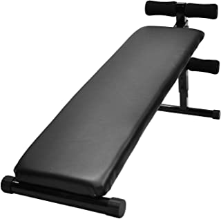 Adjustable Sit Up Bench - Crunch Fitness Exercise Press Home Gym Equipment