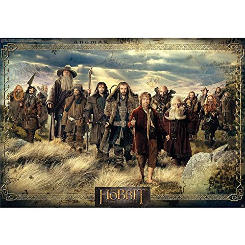 ABYstyle Poster The Hobbit Gruppo (Multicolore)