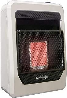 Lost River LR1TIR-LP Liquid Propane Gas Ventless Infrared Radiant Plaque Heater, 10,000 BTU, 10,000 BTU
