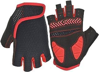 Nutteri Cycling Gloves MTB Gloves Fingerless Breathable Summer Bike Gloves for Men Women Shockproof Gel Anti Slip Half Fin...
