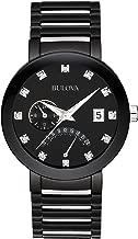 Bulova Men's 40mm Modern Diamond Accent IP Stainless Steel Watch