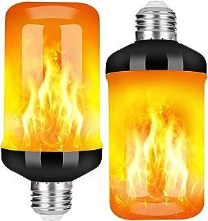 StillCool Flammen Glühbirne, E27 Lampe Flackernde Licht Effekt 5W LED Außenleuchte Flackerlicht für Haus Garten Bar Party Hochzeit Restaurant Valentinstag Deko
