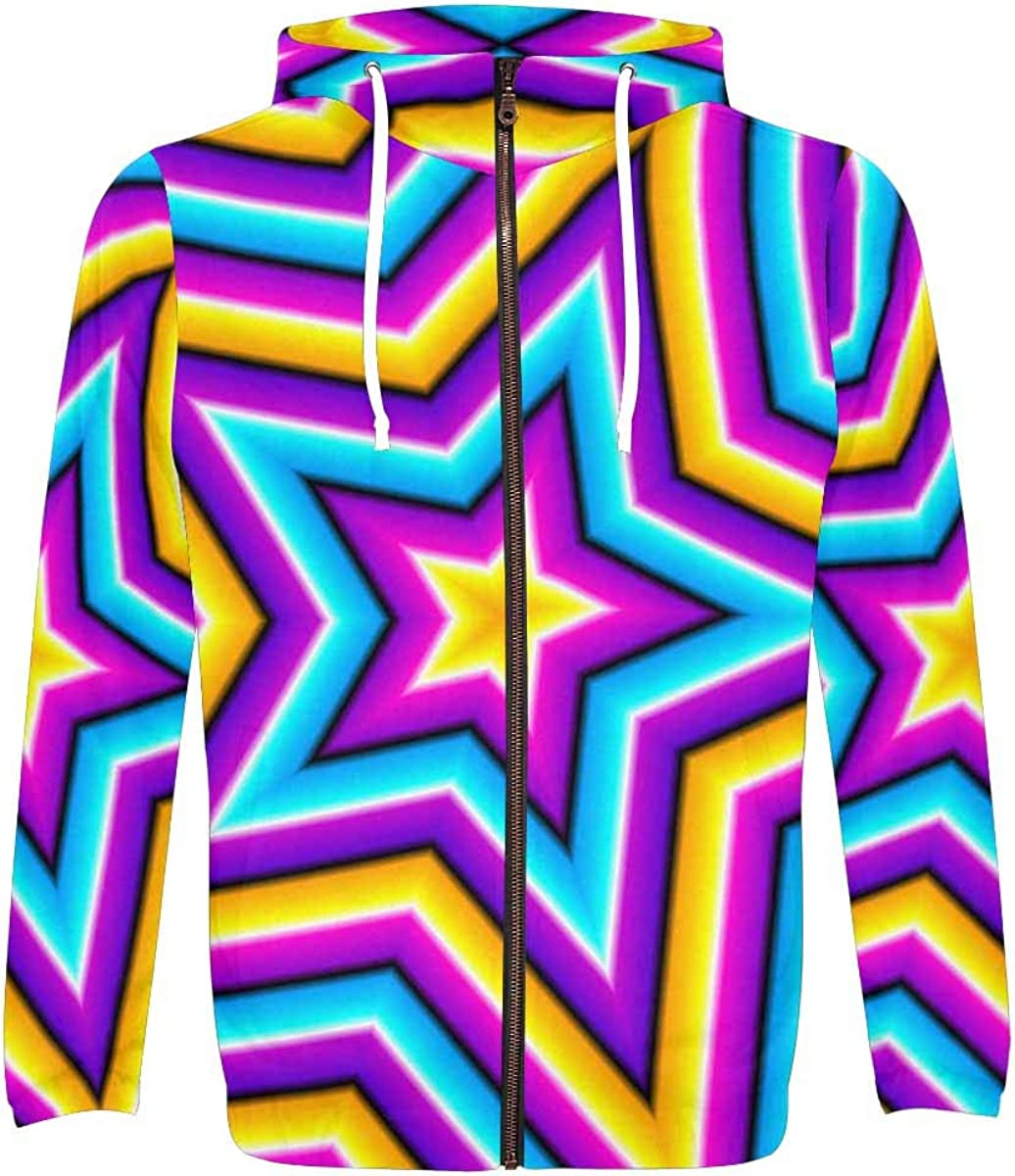 InterestPrint Polyester Hoodies for Men Elegant All with and Print 5% OFF Over