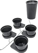 PLANT IT 01-075-100 GoGro Essential 4 Kit-15L Pots Watering System, Noir