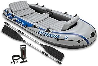 Festnight Barca Hinchable para 5 Personas con 3 Asientos ...