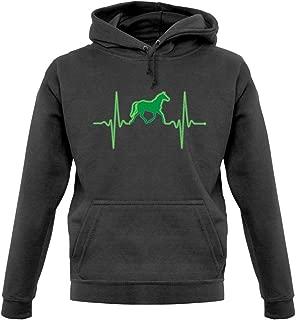 Dressdown Heartbeat Horse - Unisex Hoodie/Hooded Top - 9 Colors