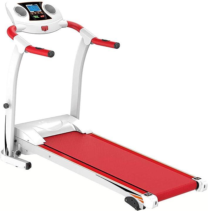 Tapis roulant elettrico frequenza cardiaca, silenziosa, manubrio e sedile regolabile 150kg inclinazione sookin B08S3W52PP