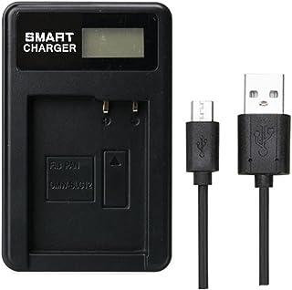 Pan DMW-BLC12 DMW BLC12 Cargador de batería de un Solo Cargador para Panasonic Lumix FZ1000 FZ200 FZ300 G5 G6 G7 GH2 DMC-GX8