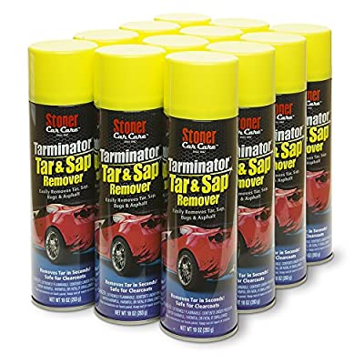 Stoner Car Care 91154 Tarminator Tar Sap & Asphalt Remover, 10 ounces, 12 Pack