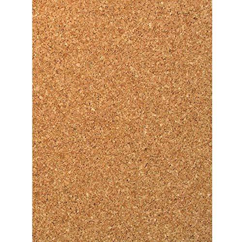 Trade Shop 3er-Set Korkplatte 20 x 30 cm Sun_3301 Platten Stärke 3 mm Holz
