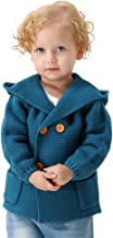 mimixiong Baby Boy Cardigan Sweater Cartoon Hoodies Long Sleeve Coats