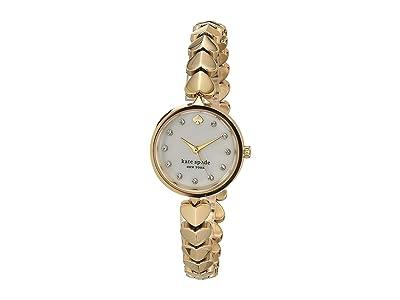 Kate Spade New York Hollis Spade Bracelet Watch KSW1589 (Gold) Watches