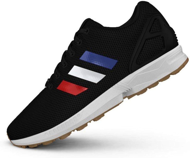 Adidas New Men's shoes ZX Flux BB2767 40 2 3 Black