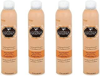 Hask Monoi Coconut Dry Shampoo, 6.5 Ounce (4pack)
