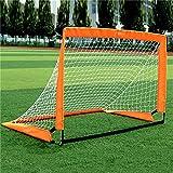 BaoYPP Mini Portería de Fútbol Plegable Objetivo de fútbol portátil Plegable Objetivo de fútbol Infantil Meta Simple de fútbol Apertura rápido Playa Meta del fútbol Fácil de Montar