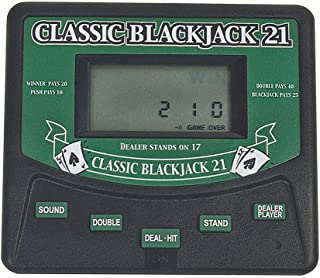 Classic Blackjack 21 Electronic Handheld Game Electronic Games