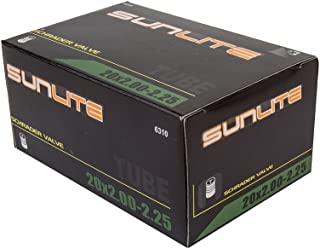 Street Fit 360 Tube,  20 x 2.00-2.25 Schrader Valve,  32mm Schrader Valve. Sunlite Bicycles. BMX,  Kids,  Child or Youth Bike. Any Bike with Same tire Dimensions.