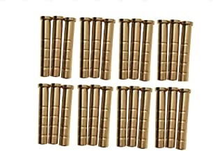 Hyuanpower Brass Inserts Brass Weight for Hunting Targeting Shooting Arrows Shaft ID.244inch(6.2mm) of Archery Crossbow Compound Recurve Bow