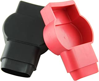 Crimp Supply Cover Set (Red and Black) for Military Battery Terminals