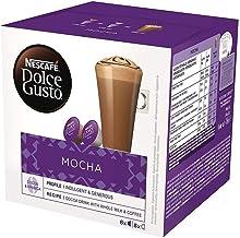 Café Nescafé Dolce Gusto Mocha 8 cápsulas + 8 cápsulas leche