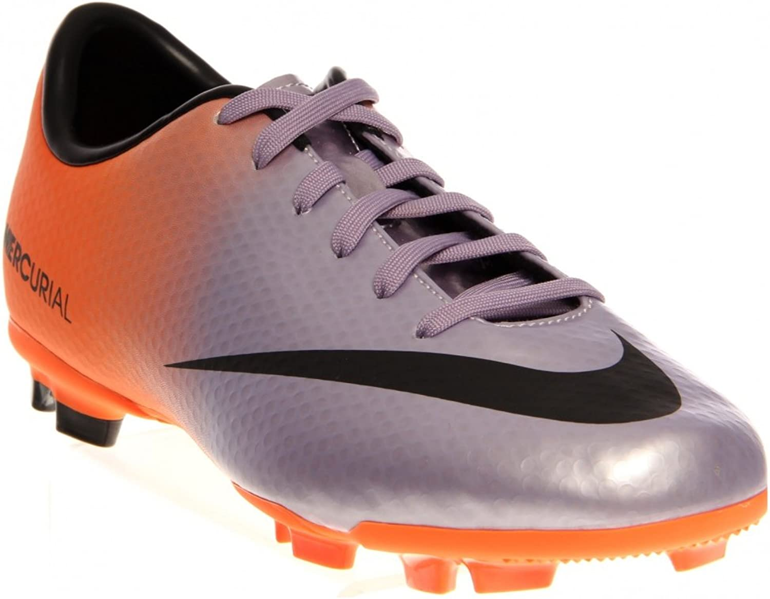 NIKE Mercurial Victory IV FG Junior Football Boots, lila lila lila  orange, UK4  kundens första rykte först