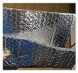 Rollo Aislante Térmico De Aluminio Autoadhesivo Aislamiento Termico Aluminio Reflexivo Aislamiento Térmico Multicapa para Frío Y Calor para Techo Pared Y Fachada para Ahorro De Energía En Radiator