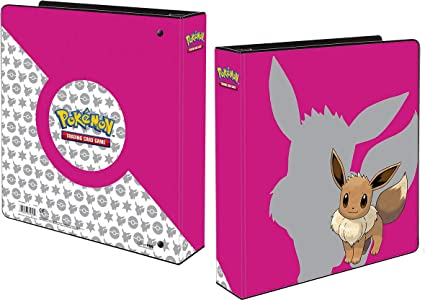 Official Pokemon Trading Card Album Ultra Pro Ring Binder Pikachu 2019 Folder